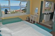 Penthouse suites main bedroom view over Mossel bay