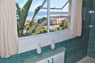 View of Mossel bay from the en suite bathroom